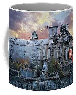 Coffee Mug featuring the photograph Engine 3750 by Lori Deiter