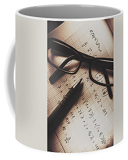 Engineer Students Technical Equations In Mechanics Coffee Mug
