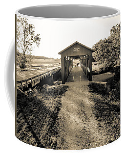 Engle Mill Covered Bridge Coffee Mug