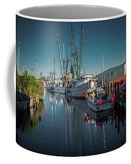 Englehardt,nc Fishing Town Coffee Mug