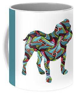 English Bulldog Spirit Glass Coffee Mug