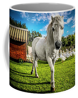 English Gypsy Horse Coffee Mug