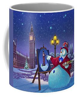 English Snowman Coffee Mug