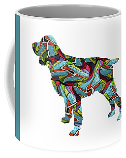 English Springer Spaniel Spirit Glass Coffee Mug