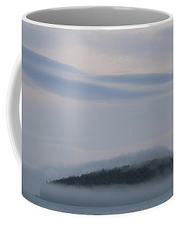 Coffee Mug featuring the photograph Engulfed In Fog by Living Color Photography Lorraine Lynch