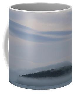 Engulfed In Fog Coffee Mug by Living Color Photography Lorraine Lynch