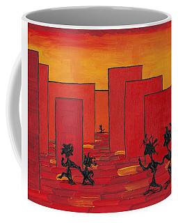 Enjoy Dancing In Red Town P1 Coffee Mug