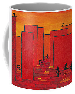 Enjoy Dancing In Red Town P2 Coffee Mug