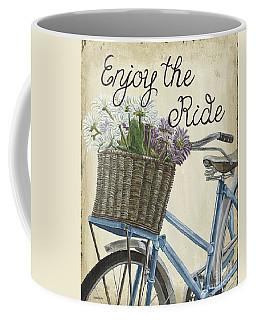 Enjoy The Ride Vintage Coffee Mug