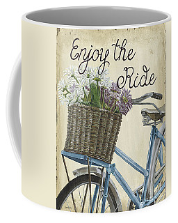 Enjoy The Ride Vintage Coffee Mug