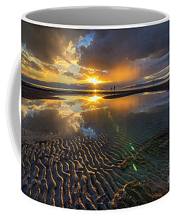 Enjoying A Sunset At The Great Salt Lake Coffee Mug
