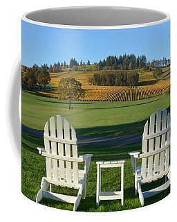 Enjoying Oregon Wine Country Coffee Mug