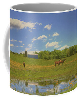 Enjoying Spring Coffee Mug