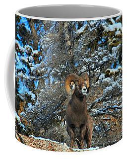 Enjoying The First Snow Coffee Mug