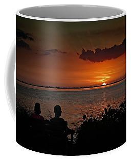 Enjoying The Sunset Coffee Mug