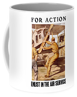 Enlist In The Air Service Coffee Mug