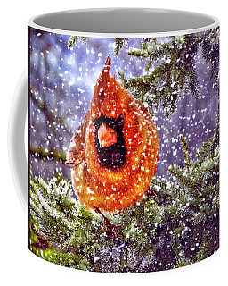 Coffee Mug featuring the photograph Enough Of This White Stuff by Diane Schuster