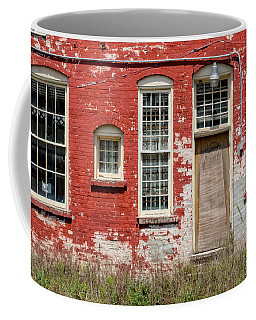 Coffee Mug featuring the photograph Enough Windows by Christopher Holmes
