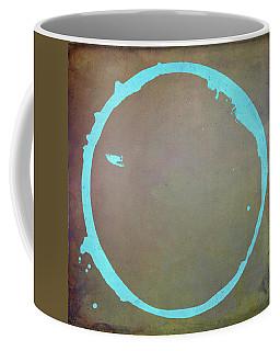 Coffee Mug featuring the digital art Enso 2017-2 by Julie Niemela