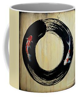 Enso With Koi Coffee Mug