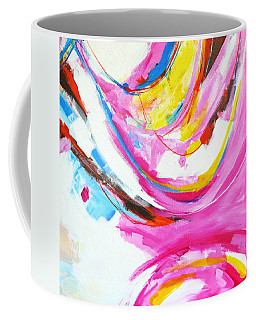 Entangled No. 8 - Right Side - Abstract Painting Coffee Mug
