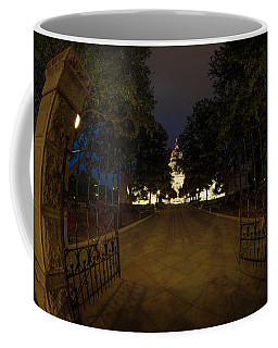 Enter Here Coffee Mug