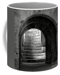 Coffee Mug featuring the photograph Enter The Arena by Olivier Le Queinec