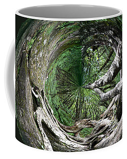 Coffee Mug featuring the photograph Enter The Root Cellar by Gary Smith