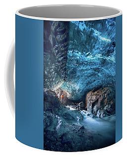 Entering The Ice Cave Coffee Mug