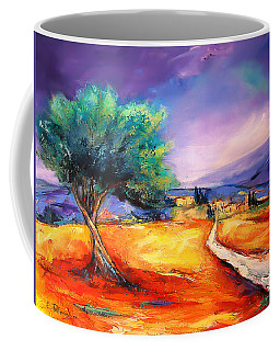 Entering The Village Coffee Mug