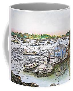 Entering Vinal Haven, Maine Coffee Mug