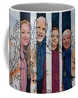 Entourage Coffee Mug by Ron Richard Baviello