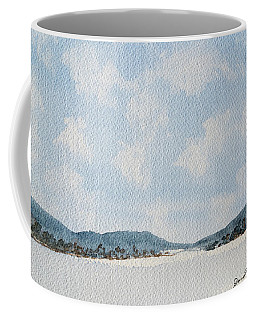 Entrance To Moulters Lagoon From Bathurst Harbour Coffee Mug