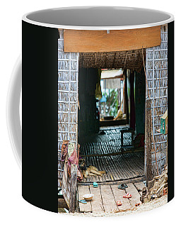 Entrance To Tonle Sap Home  Coffee Mug by Chuck Kuhn