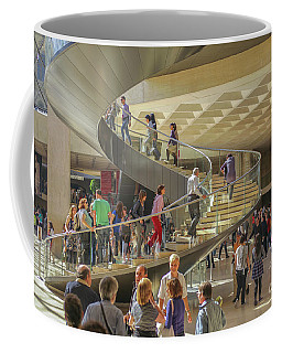 Entry Hall In The Louvre Museum Coffee Mug