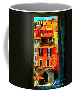 Coffee Mug featuring the painting Entry Way Painting by Catherine Lott