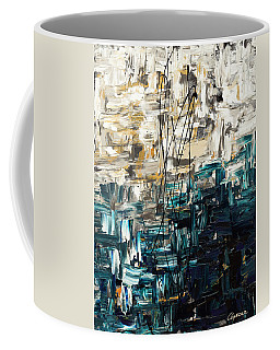 Coffee Mug featuring the painting Envisioning by Carmen Guedez