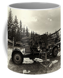 Coffee Mug featuring the photograph Enyo by Tgchan