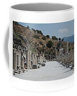 Coffee Mug featuring the photograph Ephesus, Turkey by Cendrine Marrouat
