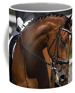 Coffee Mug featuring the photograph Equestrian At Work D4913 by Wes and Dotty Weber