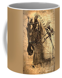 Equestrian Coffee Mug by Clare Bevan