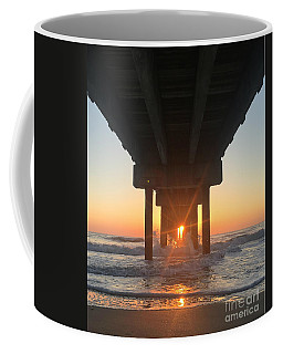 Coffee Mug featuring the photograph Equinox Line Up by LeeAnn Kendall