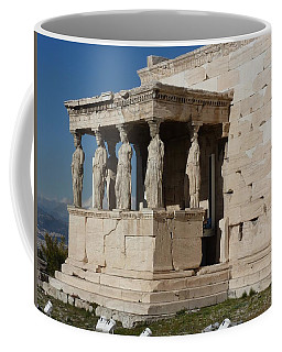 Erechteion With Nike Temple Coffee Mug