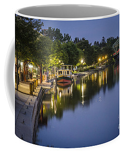 Erie Canal Shoreline Coffee Mug