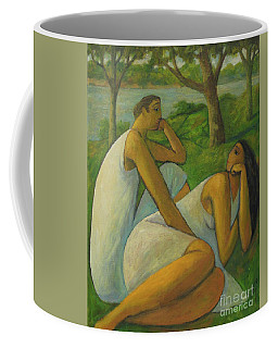 Eros And Rhea Coffee Mug by Glenn Quist