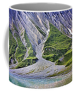 Coffee Mug featuring the photograph Erosion by Kristin Elmquist