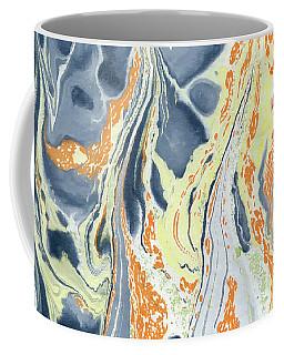Erupting Lava Coffee Mug by Menega Sabidussi