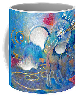 Eruption Of A Wish At The Fire Ceremony Coffee Mug