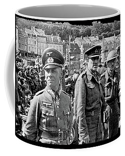 Erwin Rommel And Captured British Soldiers Tobruck Libya 1942 Color Added 2016  Coffee Mug