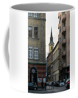 Erzsebetvaros Coffee Mug by Steven Richman